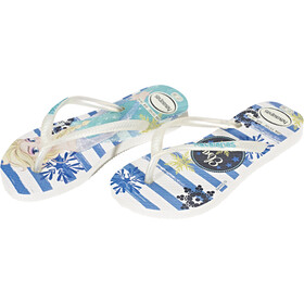 havaianas Slim Frozen Flips Kinder white/royal